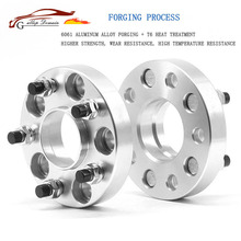 Gallop Domain 2PCS 5x108 CB 65.1mm Aluminum Alloy CNC Higher Forge Wheel Spacers For Volvo Series 240 700 850 960 C70 S60