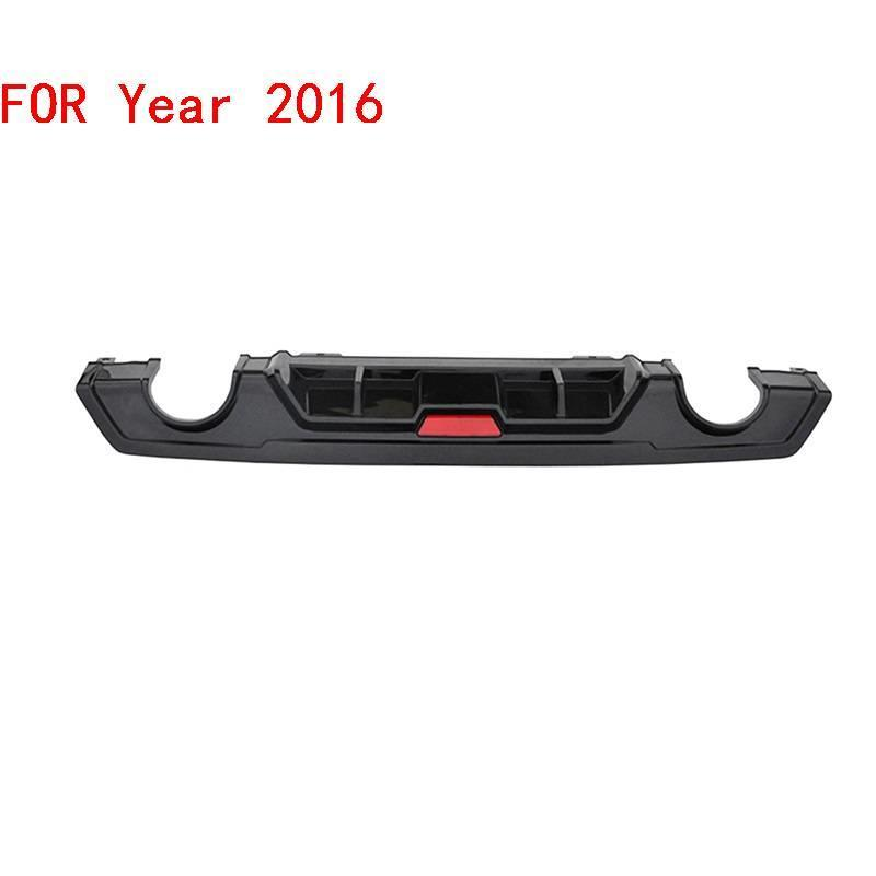 Front tuning Rear Diffuser Lip Car Decorative Modification Styling Automovil Automobiles Bumpers protector 16 FOR Honda Civic in Bumpers from Automobiles Motorcycles