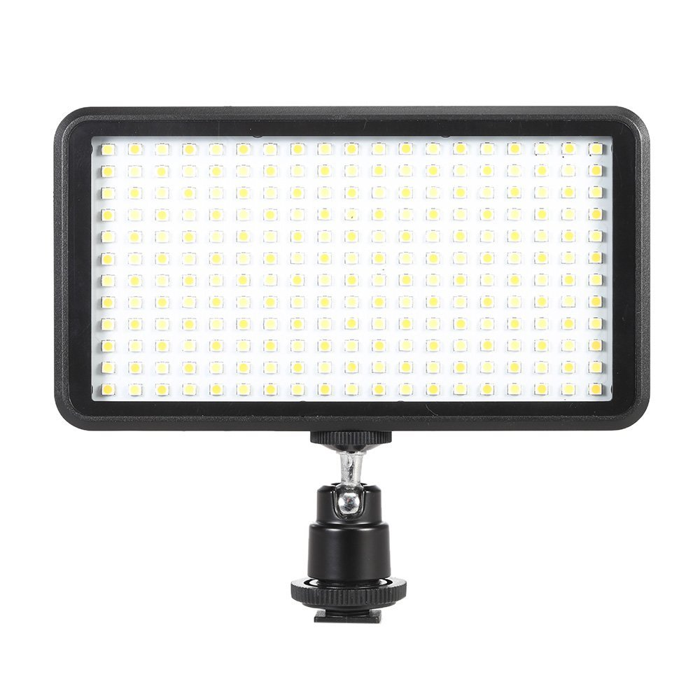 WANSEN W228 228LED Video Camera Light for iPhone Xs Max X 8 Camcorder Canon Nikon DSLR image
