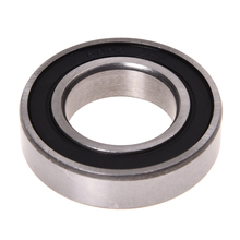 Black Rubber Sealed Deep Groove Ball Bearing 30 x 55 x 13mm 6006RS cyt 6205rs sealed ball bearing for motorcycle black silver