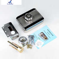 Heißer Verkauf Haushalts Self-Locking Tür Schutz Elektrische Lock Motor Lock Edelstahl Intelligente Geräuscharm Praktische Lock