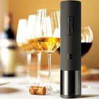 Flasche Opener Huohou Automatische Wein Flasche Kit Elektrische Korkenzieher Mit Folie Cutter Bar Werkzeuge Flasche Geöffnet