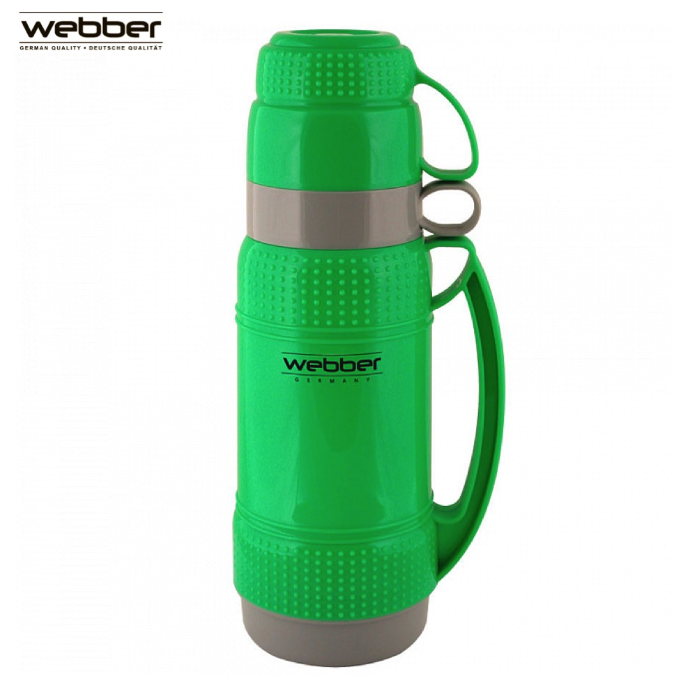 Vacuum Flasks & Thermoses Webber 31001/3S Green thermomug thermos for tea thermo keep сup stainless steel water mug food flask new safurance 200w 12v loud speaker car horn siren warning alarm stainless steel home security safety