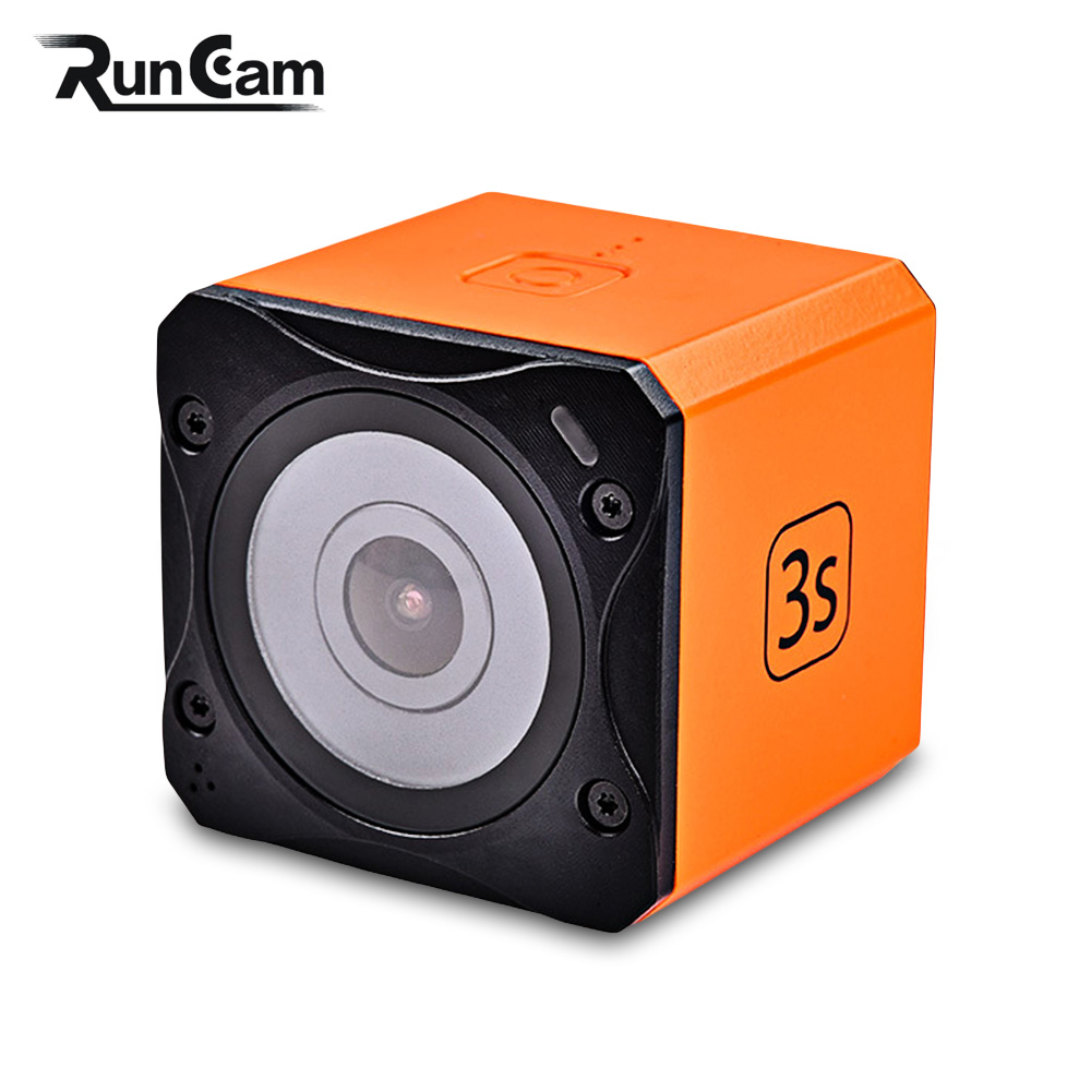 Original RunCam 3S WiFi 1080P 60fps FPV Action Camera For RC Racing Drone Quadcopter Multicopter Remote Control Toys Parts Accs genuine original xiaomi mi drone 4k version hd camera app rc fpv quadcopter camera drone spare parts main body accessories accs