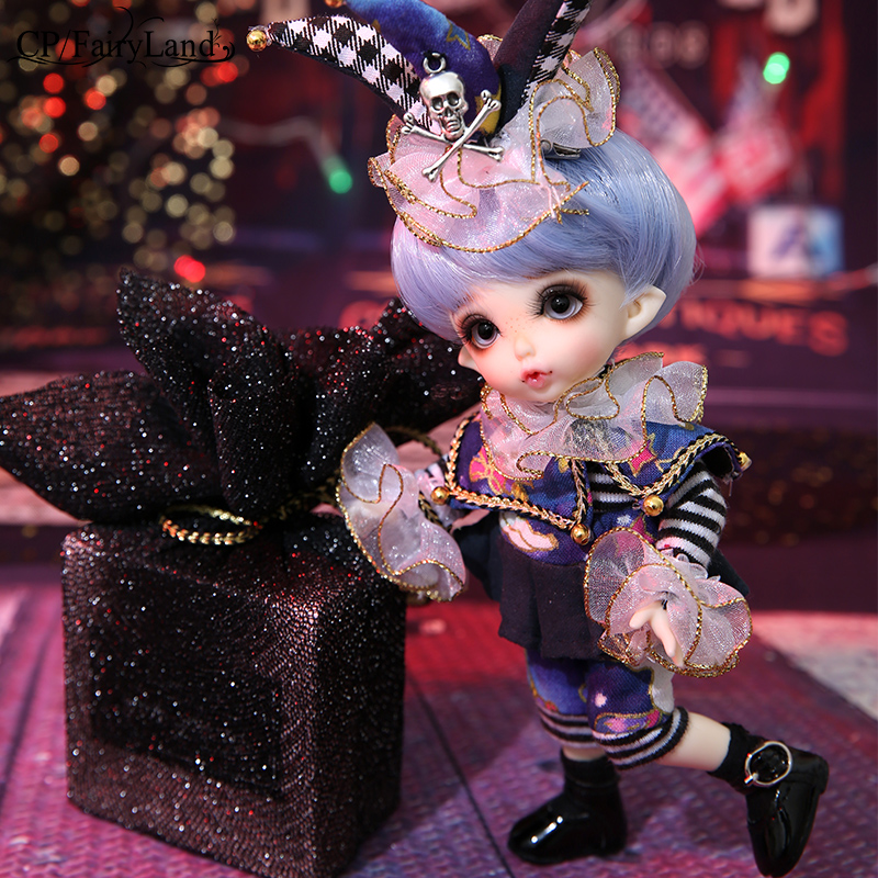 OUENEIFS Pukifee Zio Fairyland bjd sd doll 1 8 body model baby girls boys dolls eyes