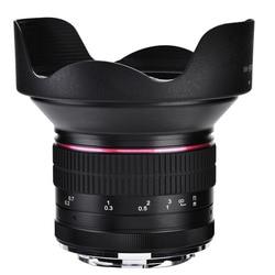 12mm F2.8 Super Wide Angle Fisheye Lens MF  For Canon EOS M1/M2/M3/M5/M6/M10/M50/M100 Mirrorless EF-M Mount Camera