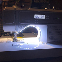 Sewing Machine LED Light Strip Light Kit DC 5V Flexible USB Sewing Light Industrial Machine Working LED Lights cheap LemonBest bedroom up to 10000 hours Switch 3 84W m Epistar 6500K SMD2835 ROHS