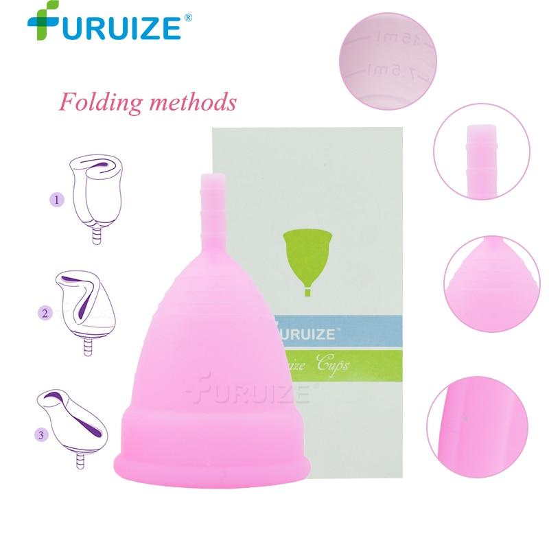 Penjualan panas cangkir menstruasi untuk wanita, Feminin Hygine medis - Perawatan kesehatan