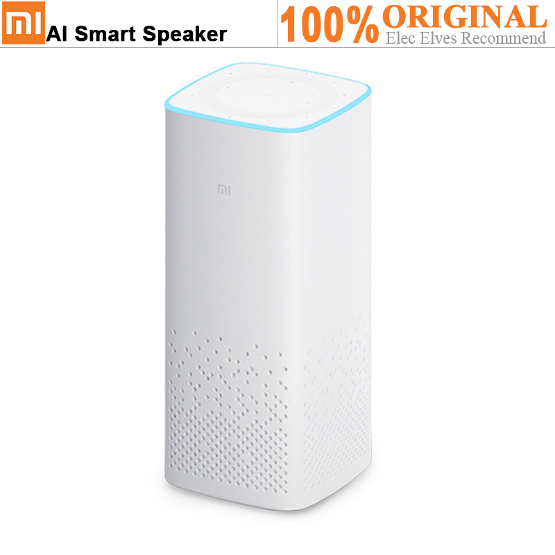Original Xiaomi AI Speaker WiFi Bluetooth Built-In Audio Content Voice Control Listen & Answer Story Music Player Smart Speaker все цены