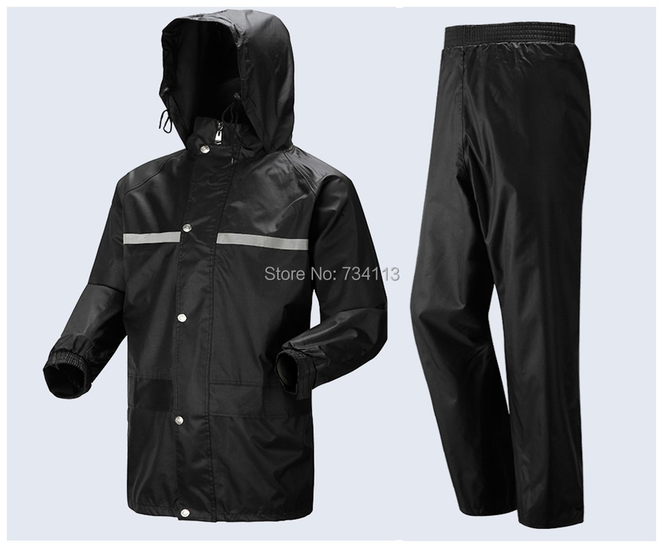 Raincoat suit big size Motorcycle bicycle rain suit men and women rain Wear Loose poncho fishing camping outdoor rain clothing