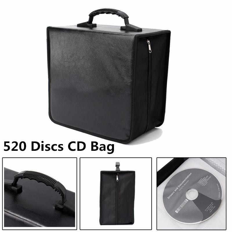 Portable 520 Disc CD DVD Penyimpanan Dunia Peta Dicetak Pemegang Dibawa Tahan Lama Tas Dompet DJ Album Mengumpulkan Penyimpanan CN /Ru Saham