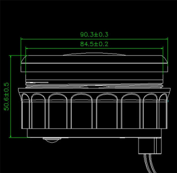 12V/24V 85mm GPS Speedometer Gauges 0-120km/h Waterproof Speed Odometers Speed Mileometers Trip Gauge Cog For Auto