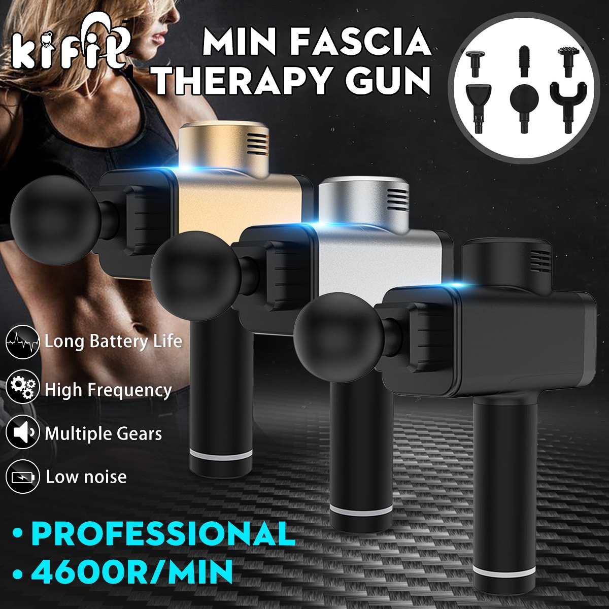 Nouveau masseur de corps électrique vibrant thérapie pistolets Relaxation Relax Massage Machine masseur musculaire équipement de Fitness outil