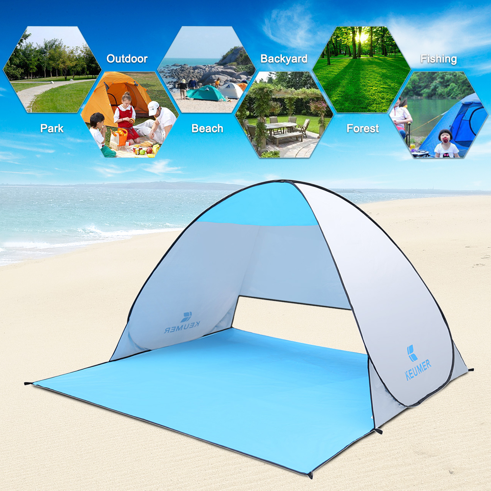 Naturehike Automatic Beach Tent Outdoor Camping Tent Travel Anti UV Shelter Instant Pop Up Tent Camping Fishing Hiking