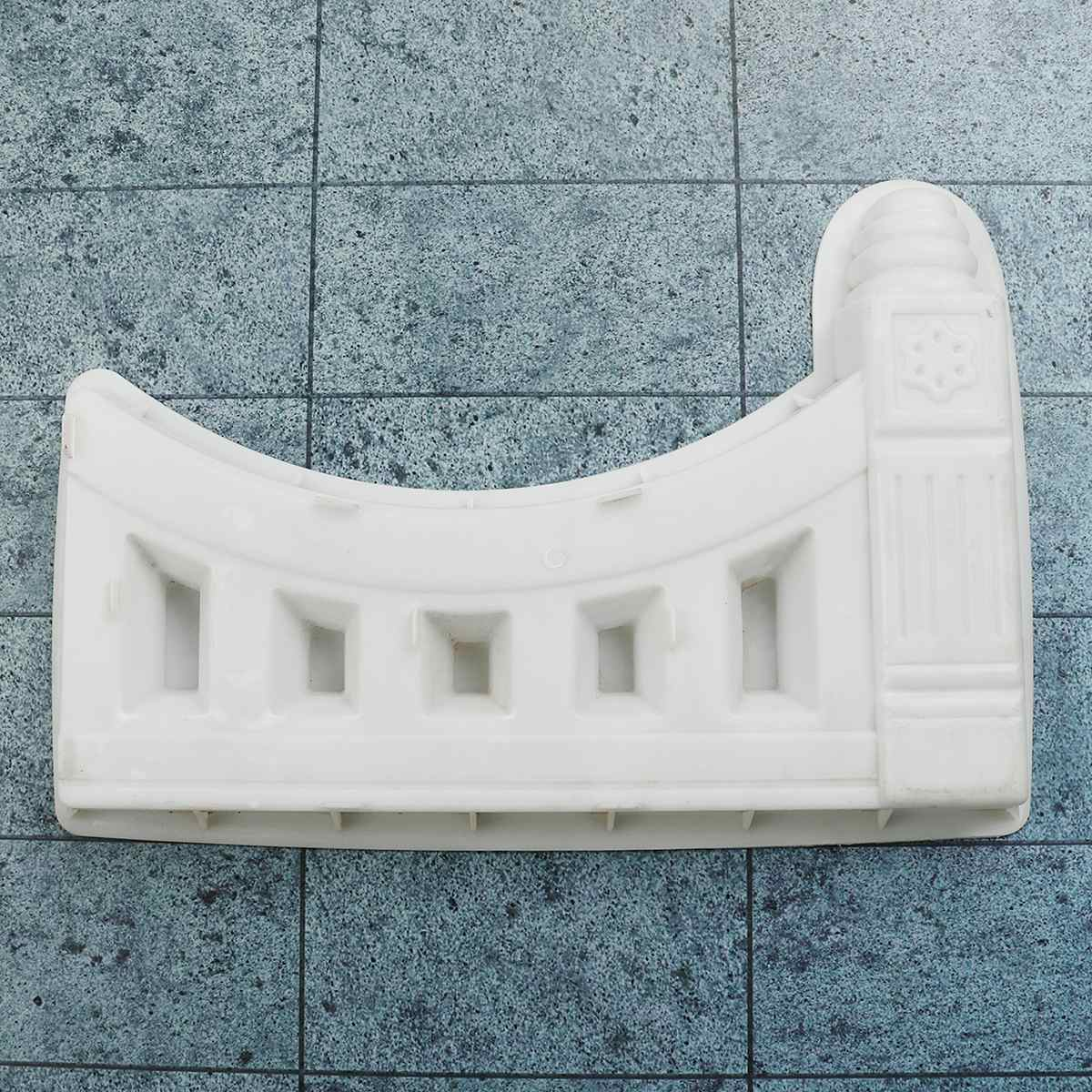 DIY Antique Brick Mold Concrete Fence Plastic Molds for Garden Flower Pool Courtyard Hole Paving Mold for Garden Building Supply