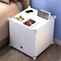 Student Dormitory Storage Simple Assembly Of Plastic Bedside Cabinets Simple And Modern Small Storage Cabinets,bedside Cabinet