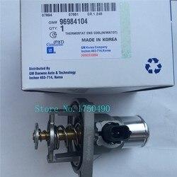 Fabrycznie nowy płyn chłodzący silnik montaż termostatu OEM #55578419 96984104 dla opla Astra Zafira Signum Vectra chevrolet aveo Cruze|Termostaty i części|Samochody i motocykle -