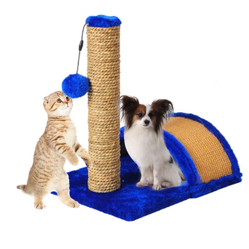 Animal de compagnie jouet lit chat arbre chat escalade cadre chat arbre griffoir Post jouet planche à gratter jouets interactifs adapté pour petit chien chat