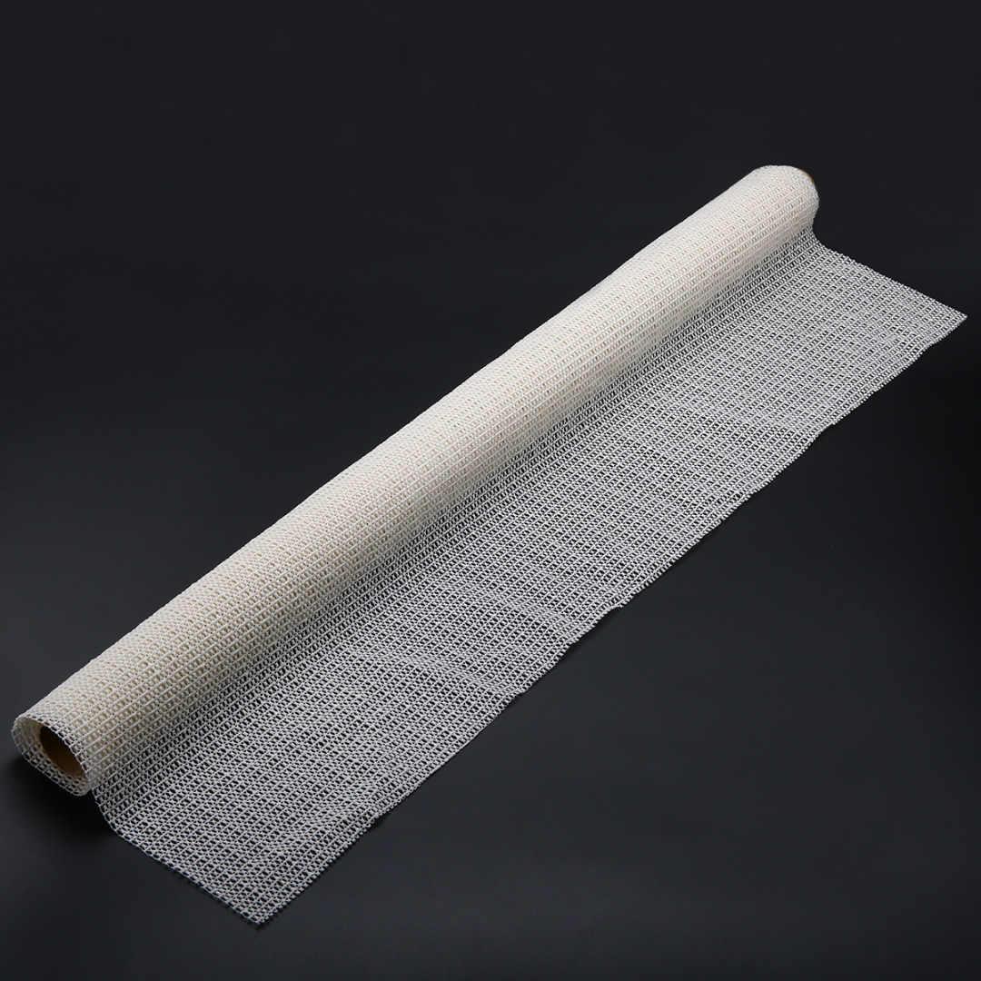 Бежевый Универсальный нескользящий коврик подложка многоцелевой ковер легкий разрез складной Противоскользящий коврик мебельные аксессуары 60X100 см