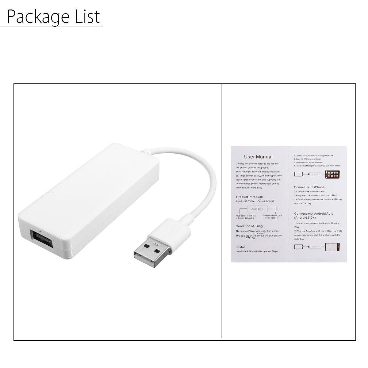 רכב קישור Dongle USB נייד קישור Dongle ניווט נגן אוטומטי קישור