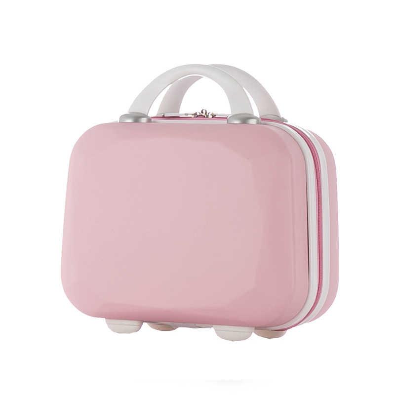 Kleine Fest Gepäck Koffer Tasche Reise Frauen Business Kleidung Elektronische Schönheit Toiletry Box Fall Business Zubehör Artikel