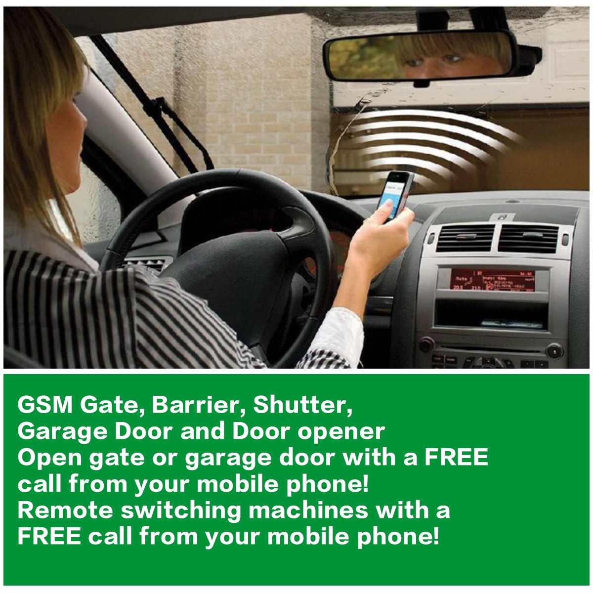 Image 5 - RTU5024 GSM ворот реле дистанционного контроля допуска двери беспроводной открывания двери с помощью бесплатного звонка 850/900/1800/1900 МГц-in Наборы для управления доступом from Безопасность и защита