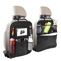 Backseat Organizer Voor Kids 2 Type (A + B) kick Matten Achterbank Auto Protector Met Multi Pocket Opbergtas Houder Voor Ipad Tafel