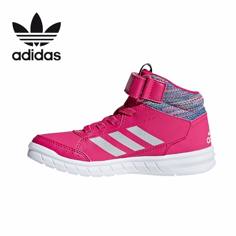 18efcfa363792 Detail Feedback Questions about Adidas High Help Kids Shoes New Pattern  Shock absorption Motion Leisure Time Training Sneakers  AP9933 on  Aliexpress.com ...