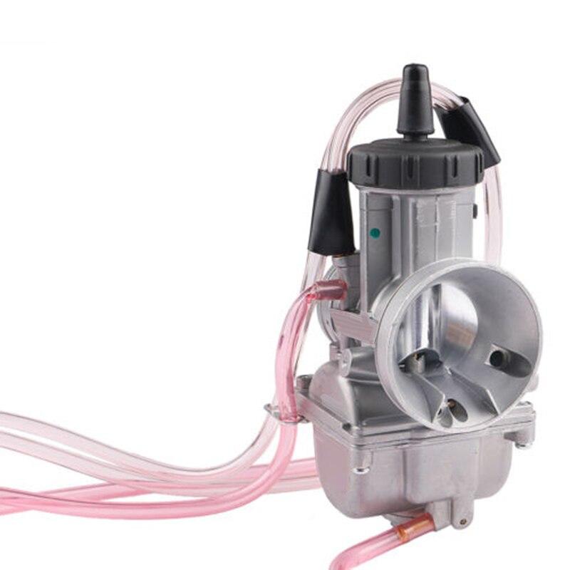 1x PWK38 38mm PWK carburateur moto carburateur convient pour ATV Dirt KTM 250 250SX 250EXC 96-99 carburateur moto pour hon-da