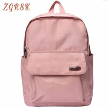 Woman Light Girl Oxford Bag High Middle School Student Korean Backpack Bags Campus College Both Shoulders Bagpack
