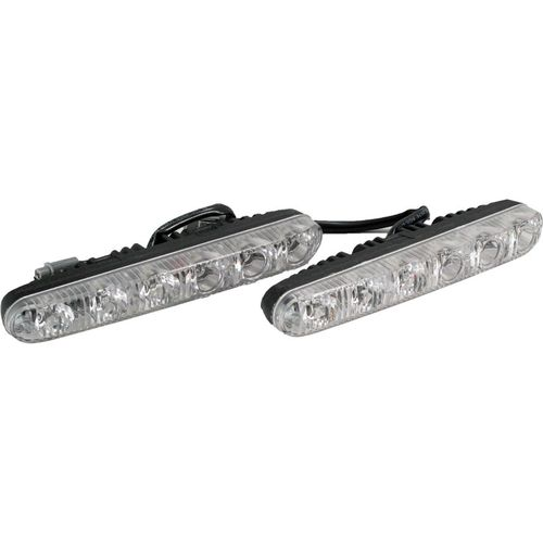 Running lights NACK Orion DRL-HP-L6 (5047) 2pcs h1 drl bulbs 12 smd sharp chip 700lm car led fog lights bulb high bright daytime light headlight auto drl lamp 6000k d030