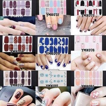 Instant Nail Art Sticker Nails Wrap Folie Nail Art Diy Manicure Decor Sticker Tips Fashion Stijl Nail Stickers