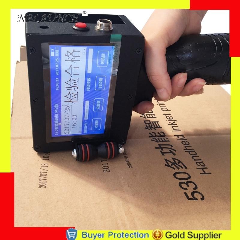 US $799 99 |Aliexpress com : Buy Handheld Inkjet Printer Touch Screen Date  Coder Coding Machine Barcode Ink Jet Printing Expiry Dates Batch Code Free