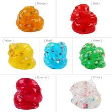 Soft Slime Scented Stress Relief Mud Sludge Toys Plasticine Modeling Clay Fluffy antistress Sludge No Borax Education Craft Mud(China)