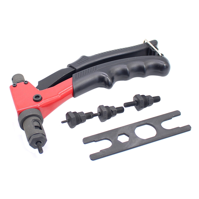 New 8 Inch 200Mm M3/M4/M5/M6 Hand Riveter Manual Rivets Nut Handle Screw Riveting Tools M3-M6