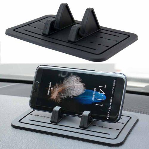 Group Vertical Silicone Pad Non-slip Dash Mat Mobile Phone Mount Holder Cradle Dock for Mobile Phone Universal for Tablets d25