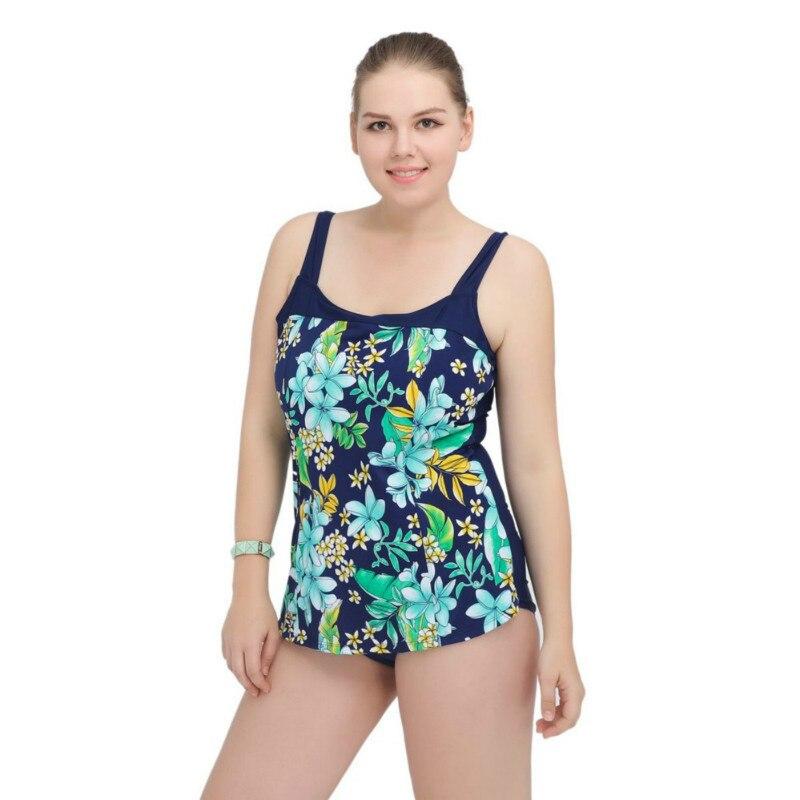 Grande taille Maillot De Bain une pièce maillots De Bain femmes 2019 Sexy brésilien Maillot De Bain imprimé licou Maillot De Bain Femme