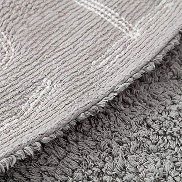 Abc Alphabet tapis de jeu rampant pour enfants-Super doux à tricoter tapis éducatifs lavables rond 120 CM de diamètre - 3