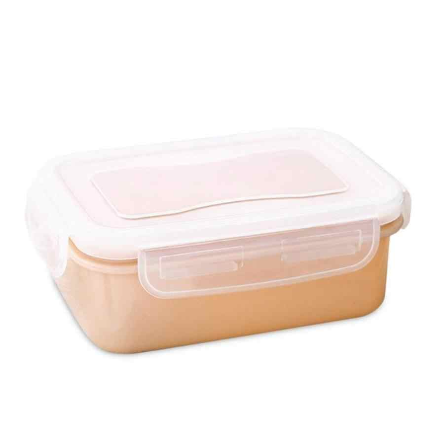 Casa portátil Tigela Almoço Recipientes de Cozinha Geladeira Mantimento Fresco Caixa de Armazenamento De Alimentos Selados