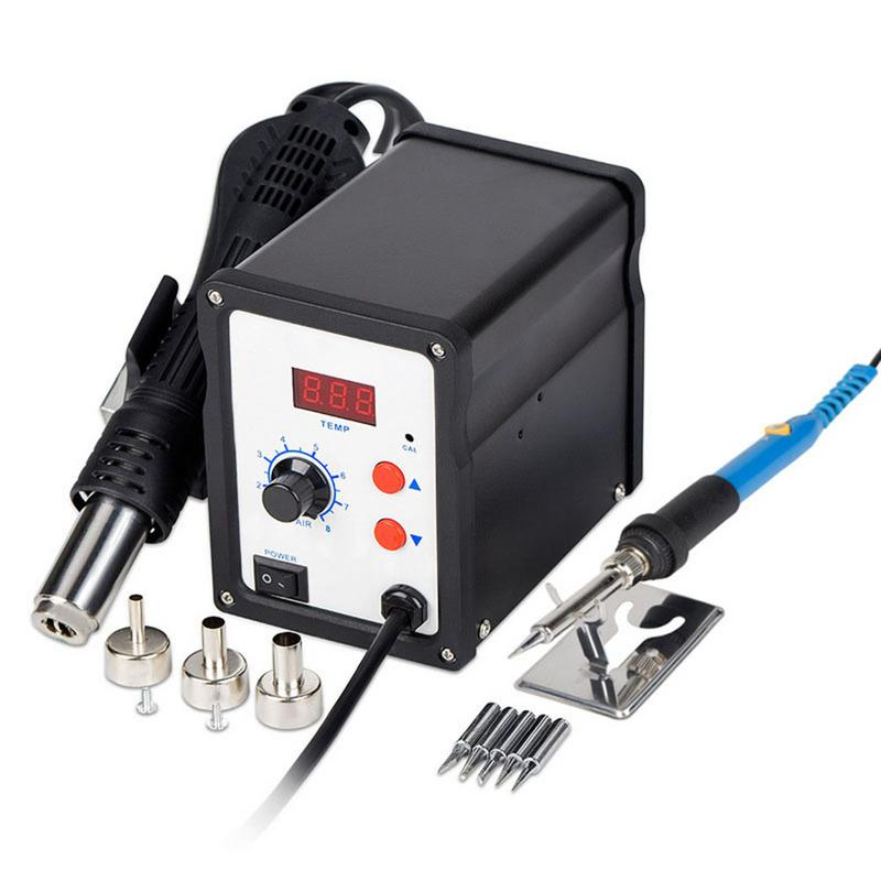 Hot Air Desoldering Station 110V 220V Digital Display Temperature Control Maintenance ToolHot Air Desoldering Station 110V 220V Digital Display Temperature Control Maintenance Tool
