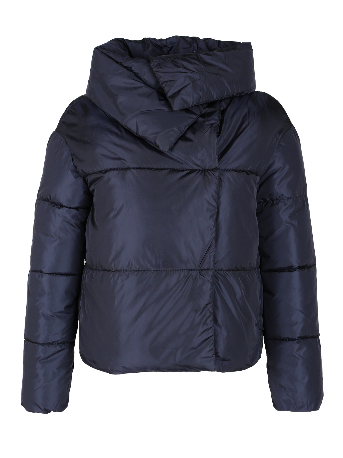 Veste Coton Manteau Court breasted Bleu Single Femme Chaud 5YXqx