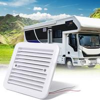 VODOOL Side Air Ventilation Exhaust Fans 12V Fridge Vent With Fan For RV Trailer Caravan Exhaust System Accessories Car Styling