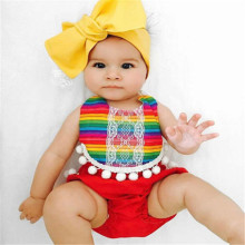Hot Sale 2019 Newborn Infant Baby Girl Romper Rainbow Swimsuit Sunsuit Clothes Outfits