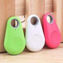 Мини модный Bluetooth 4,0 трекер локатор бирка сигнализация кошелек ключ для питомца собаки трекер анти-потеря карманный размер смарт-трекер 3 цвета