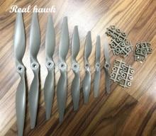 2pcs 4.75x4.75/5x5/6x4/7x5/8x4/8x6/9x4.5/9x6/10x5/10x7/11x5.5/11x7 Nylon glass fiber electric propeller RC Model Replace APC