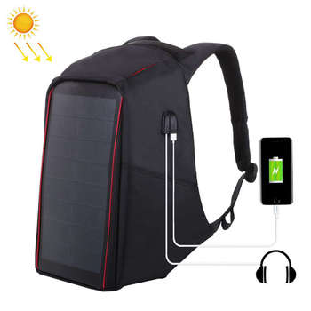 12W Flexible Solar Panel Power Backpack 2