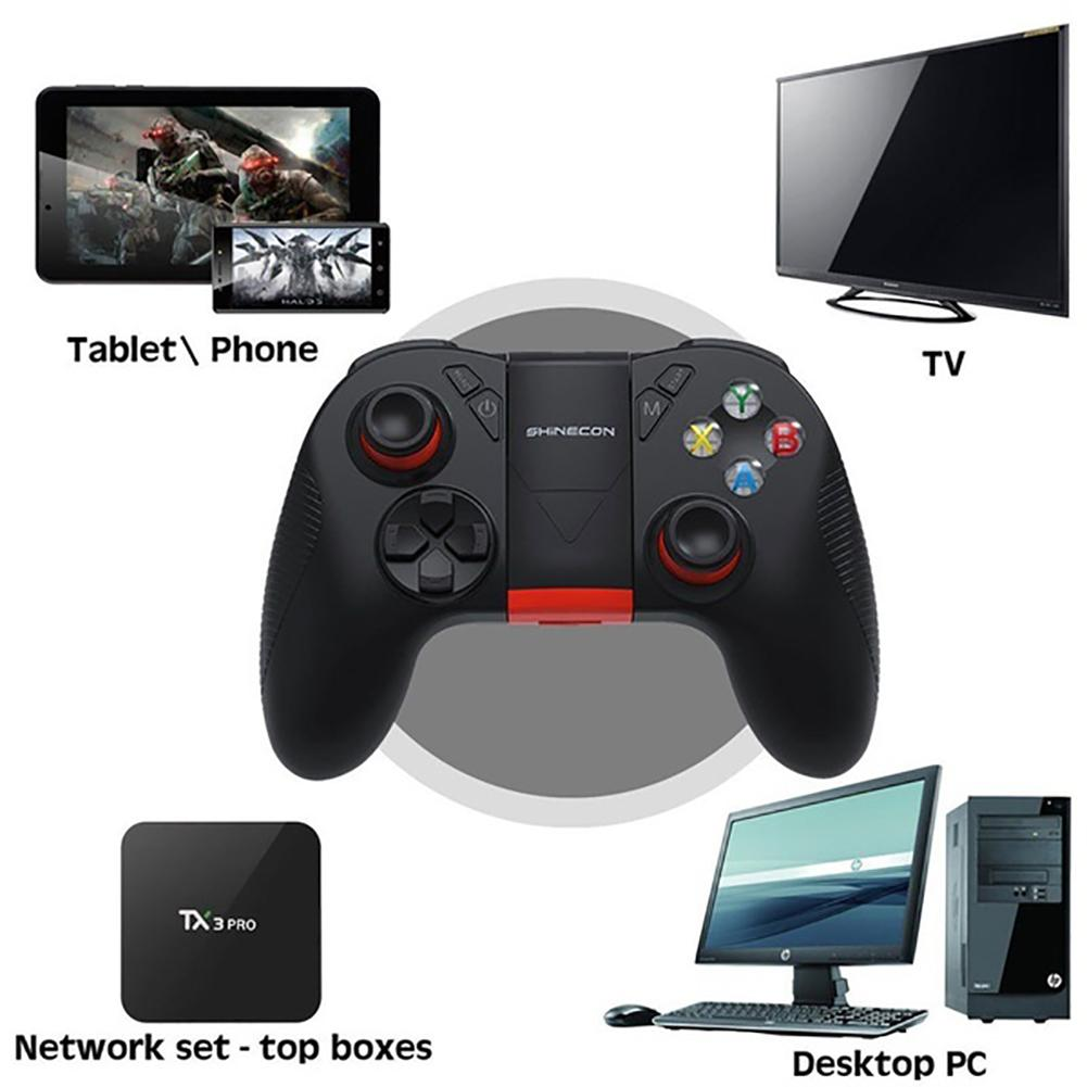 Image 4 - Wireless Bluetooth Gamepad Remote Game Controller Joystick For Cross Platform Android Smartphones Tablets For PUBG Mobile Game-in Gamepads from Consumer Electronics