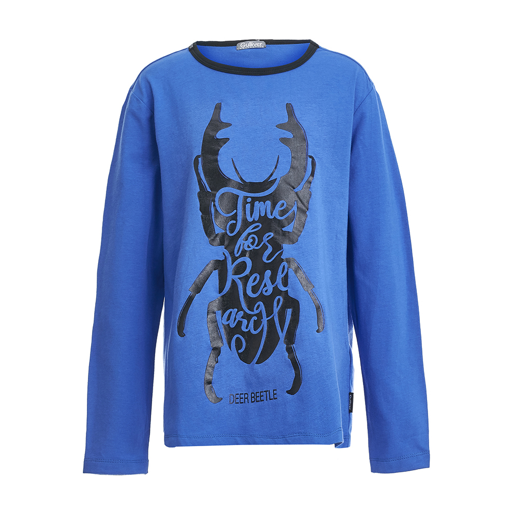 T-Shirts Gulliver 21807BKC1202 for boys Cotton Tshirt children kids boy clothing женская футболка other 2015 3d loose batwing harajuku tshirt t a50