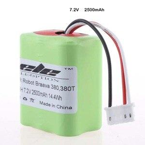 Image 4 - Eleoption batterie de remplacement pour aspirateur 7.2V, 2500mAh de haute qualité pour IRobot Roomba Braava 380 et 380T, nouveau