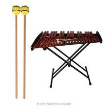 1 пара Marimba палка молоток ксилофон Glockensplel молоток с ручки из бука ударный инструмент для профессионалов любителей